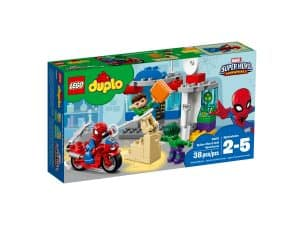 lego 10876 spider man hulk adventures