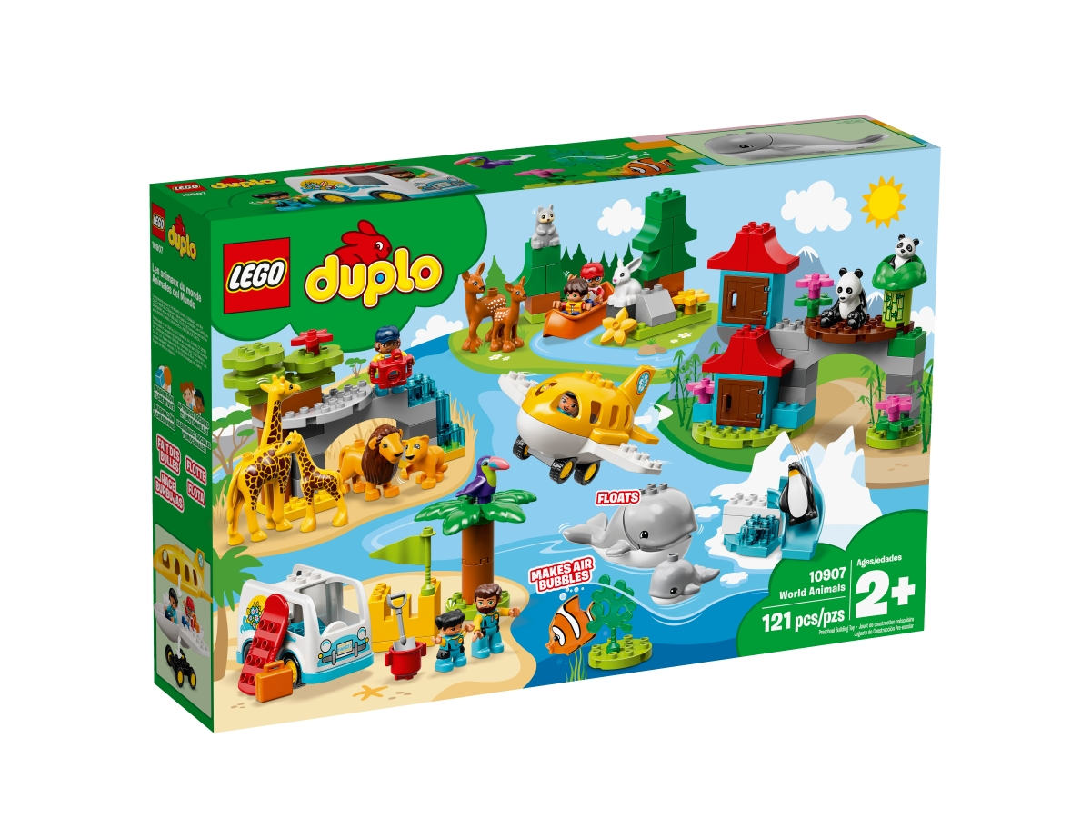 lego 10907 world animals