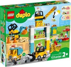 lego 10933 tower crane construction