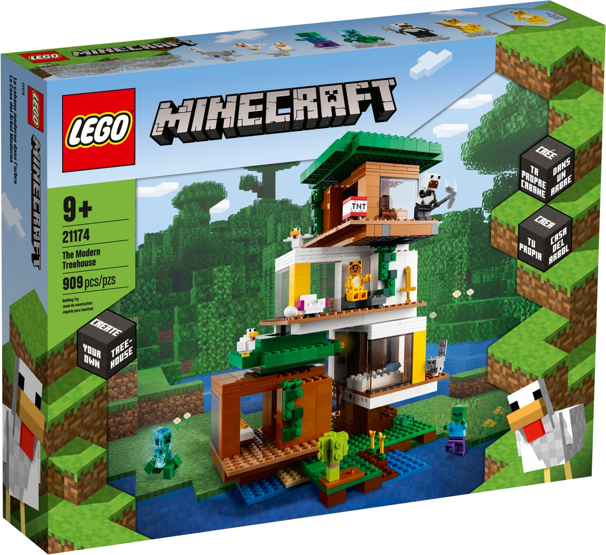 lego 21174 the modern treehouse