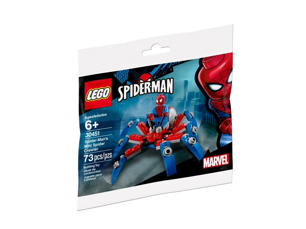 lego 30451 spider mans mini spider crawler