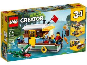 lego 31093 riverside houseboat