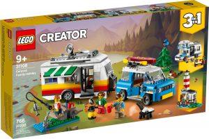lego 31108 caravan family holiday