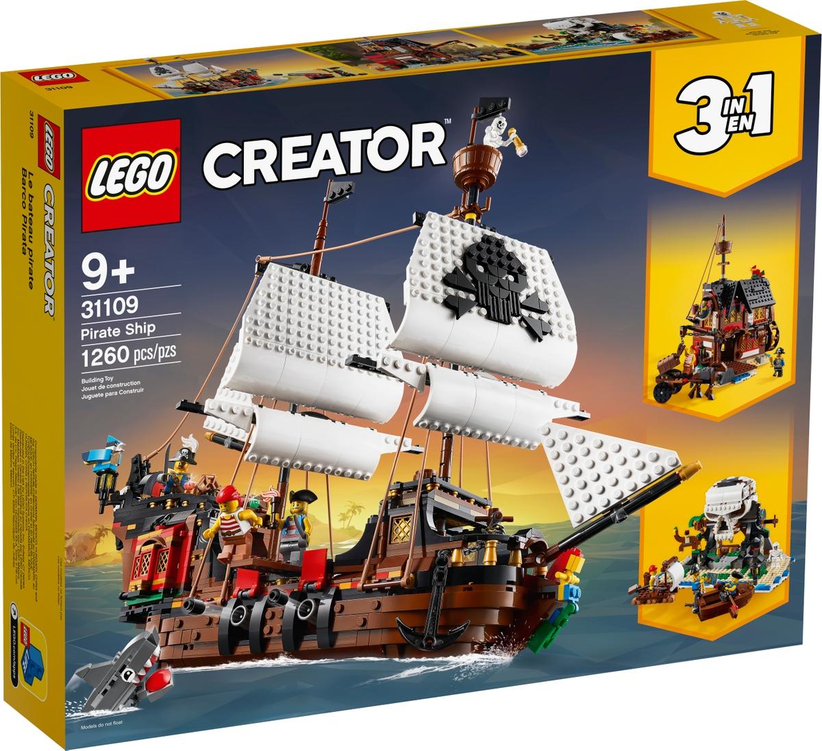 lego 31109 pirate ship