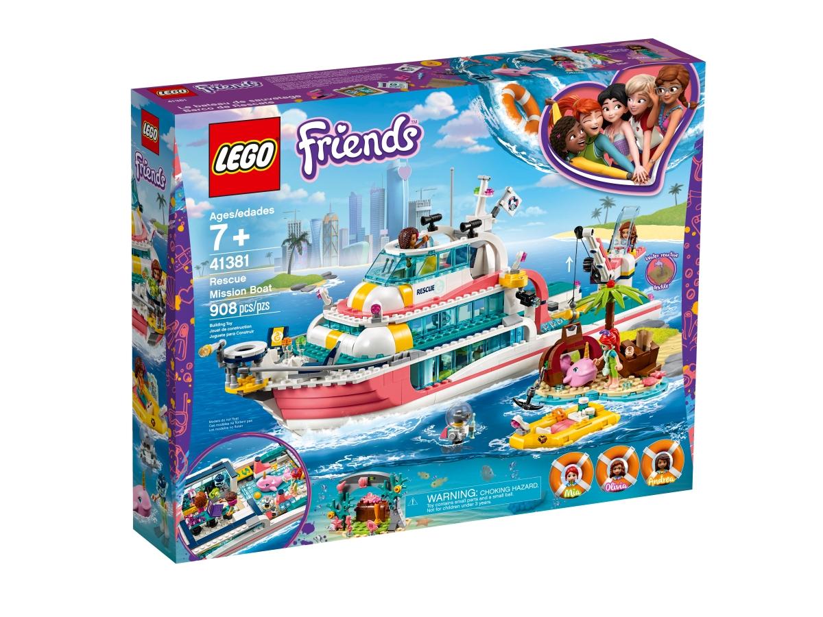 lego 41381 rescue mission boat