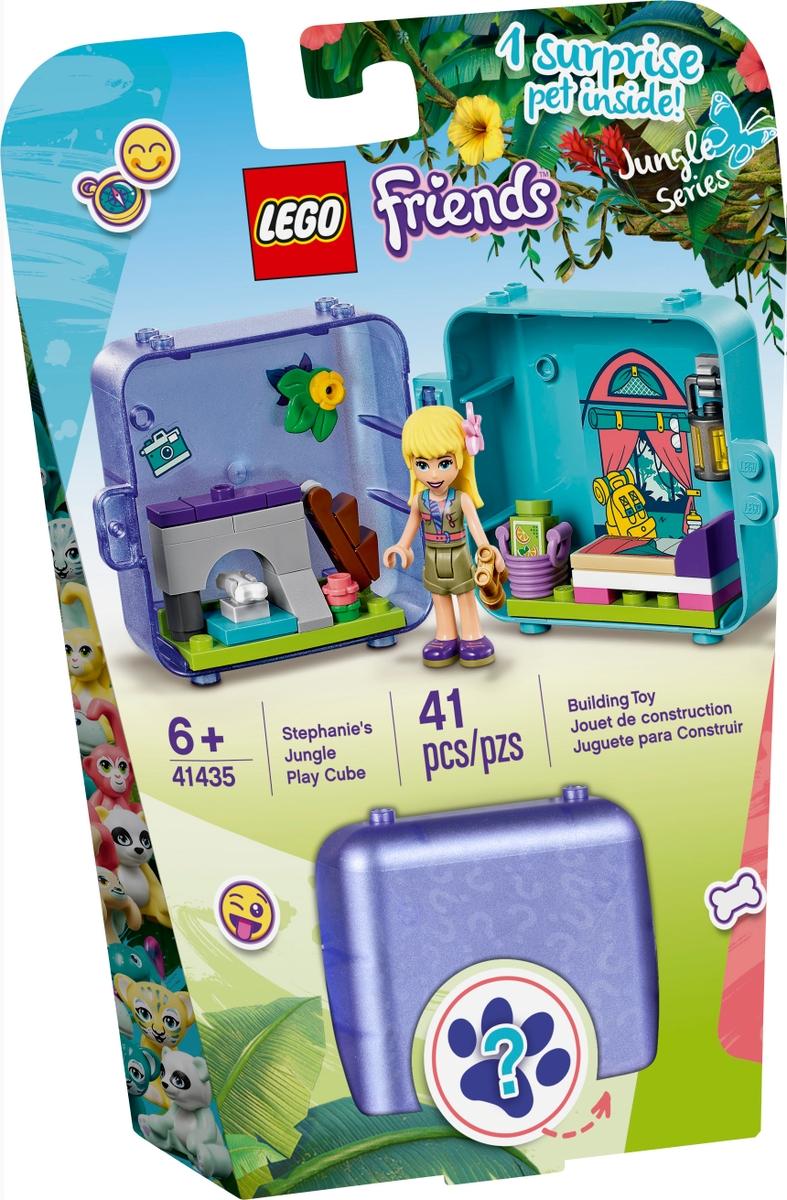 lego 41435 stephanies jungle play cube