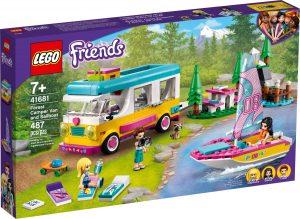 lego 41681 forest camper van and sailboat