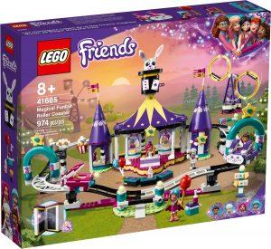 lego 41685 magical funfair roller coaster