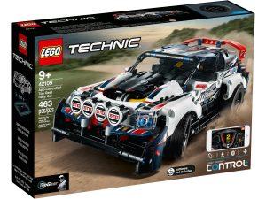 lego 42109 app controlled top gear rally car