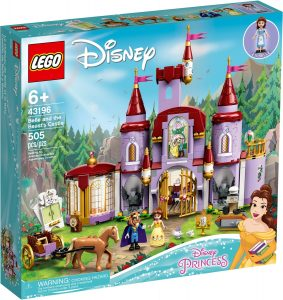 lego 43196 belle and the beasts castle