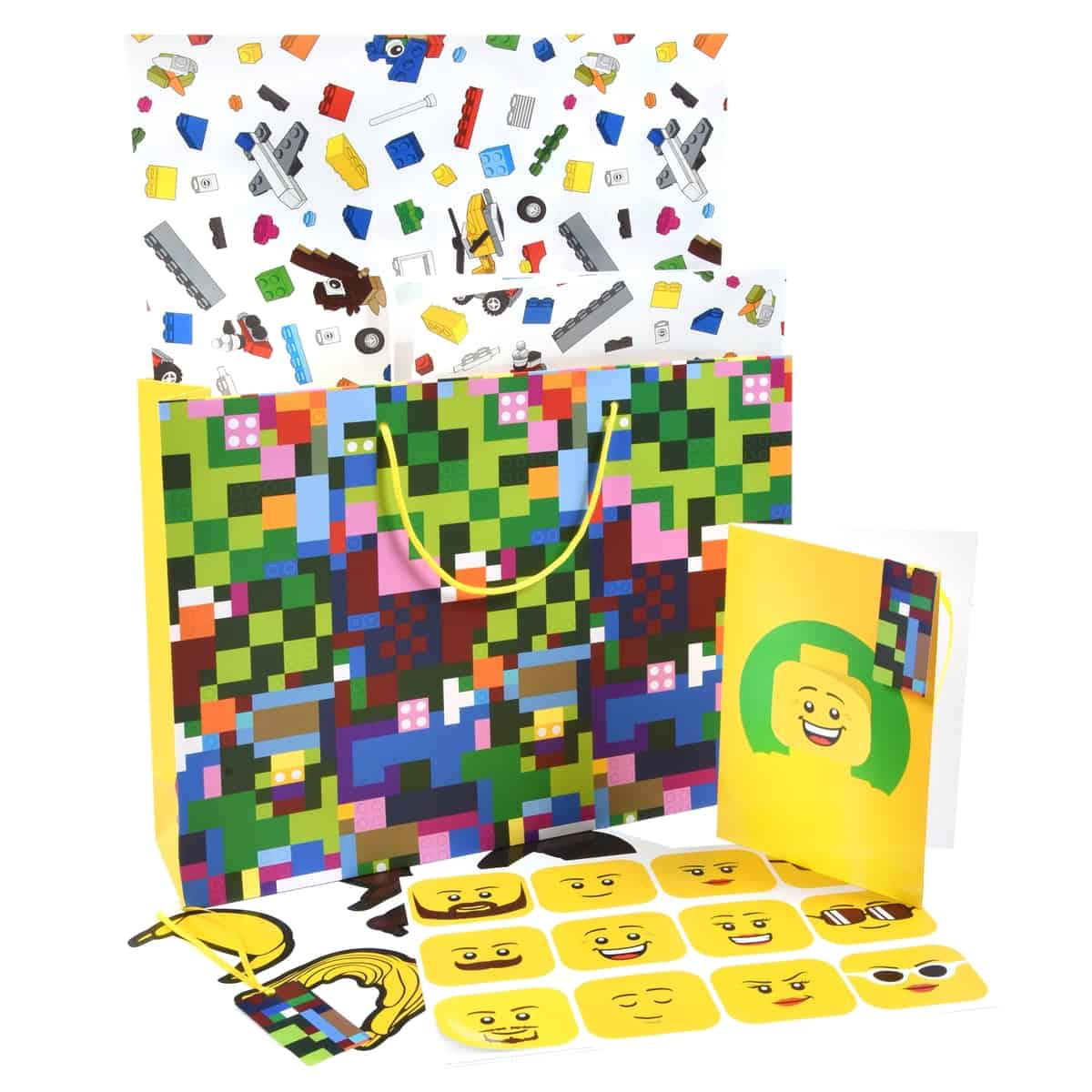 lego 5006008 wrapping paper gift