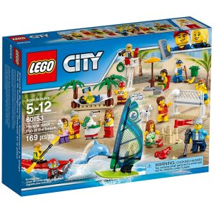 lego 60153 people pack fun at the beach
