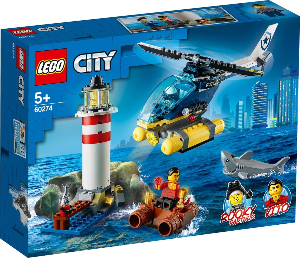 lego 60274 elite police lighthouse capture