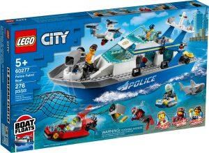 lego 60277 police patrol boat