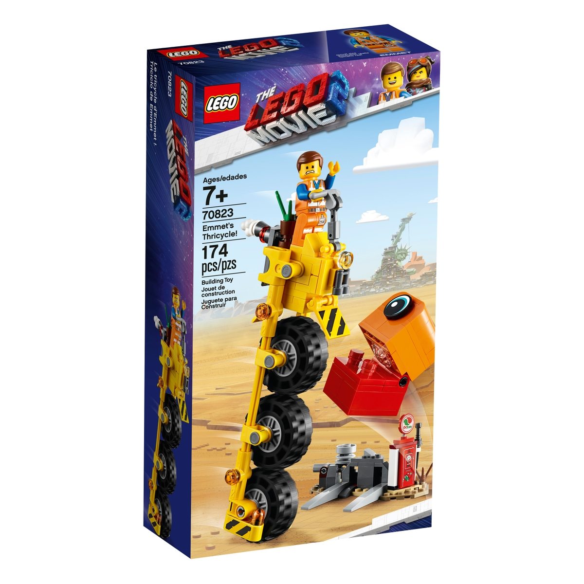 lego 70823 emmets thricycle