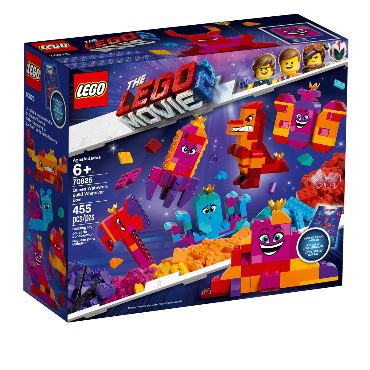 lego 70825 queen watevras build whatever