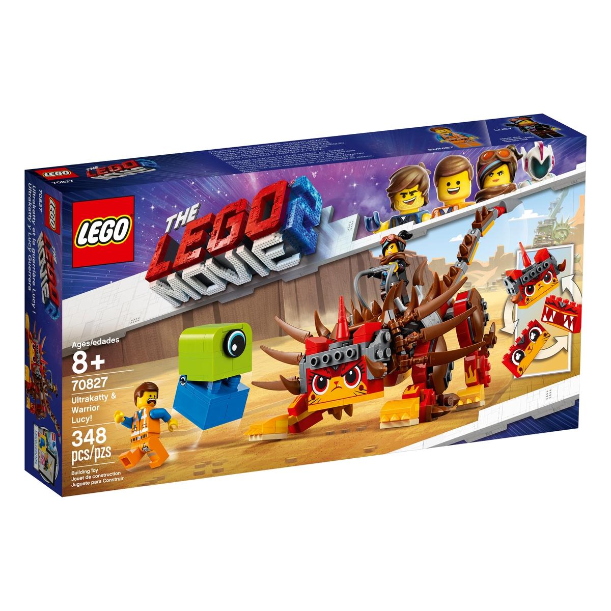 lego 70827 ultrakatty warrior lucy