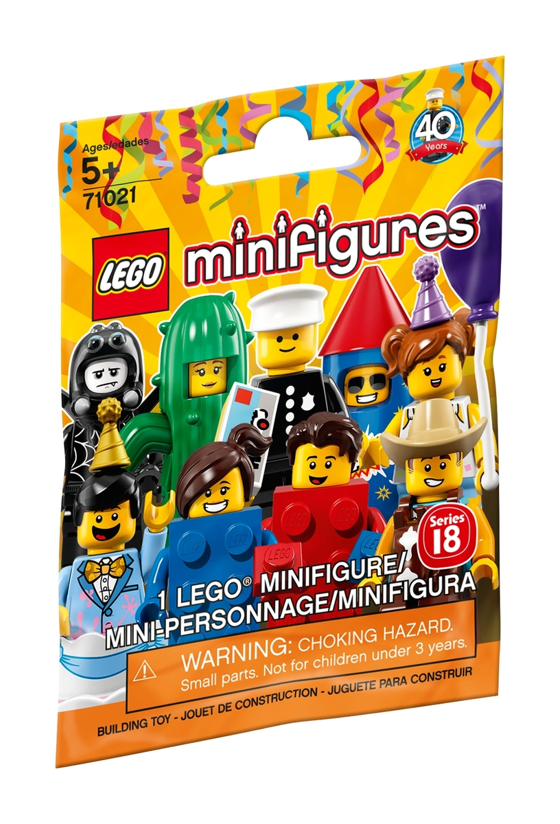 lego 71021 series 18 party