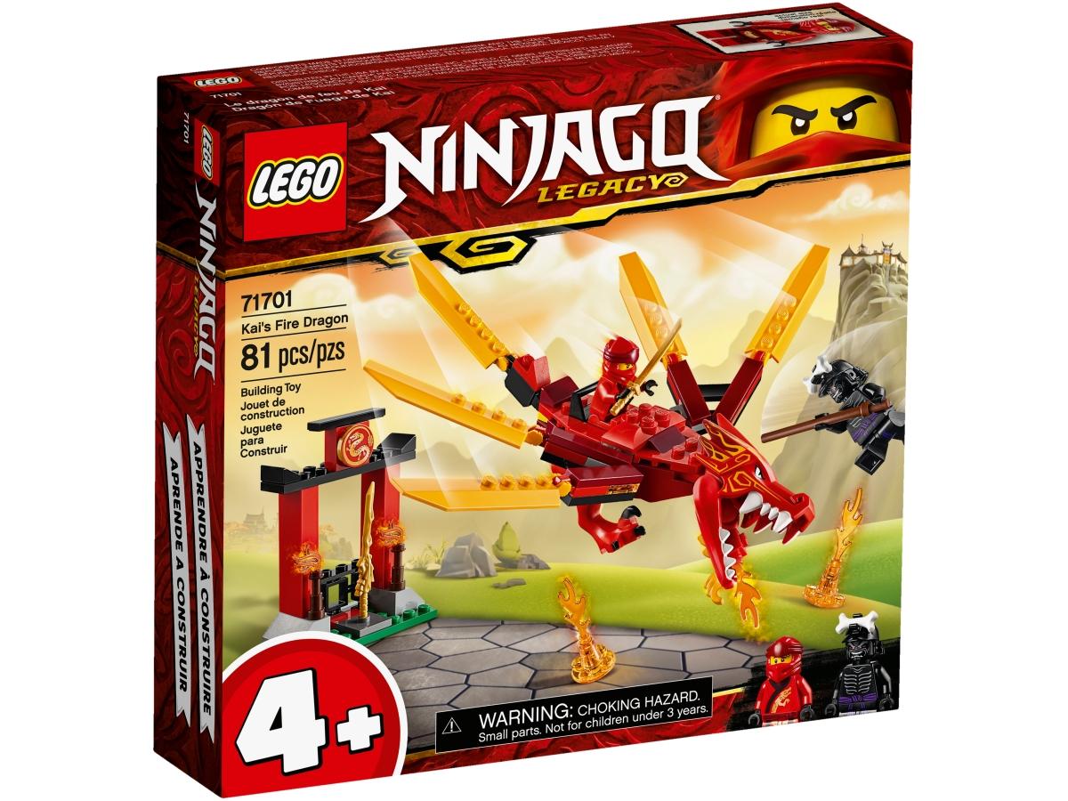 lego 71701 kais fire dragon