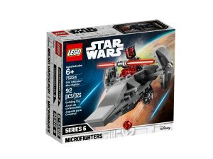 lego 75224 sith infiltrator microfighter