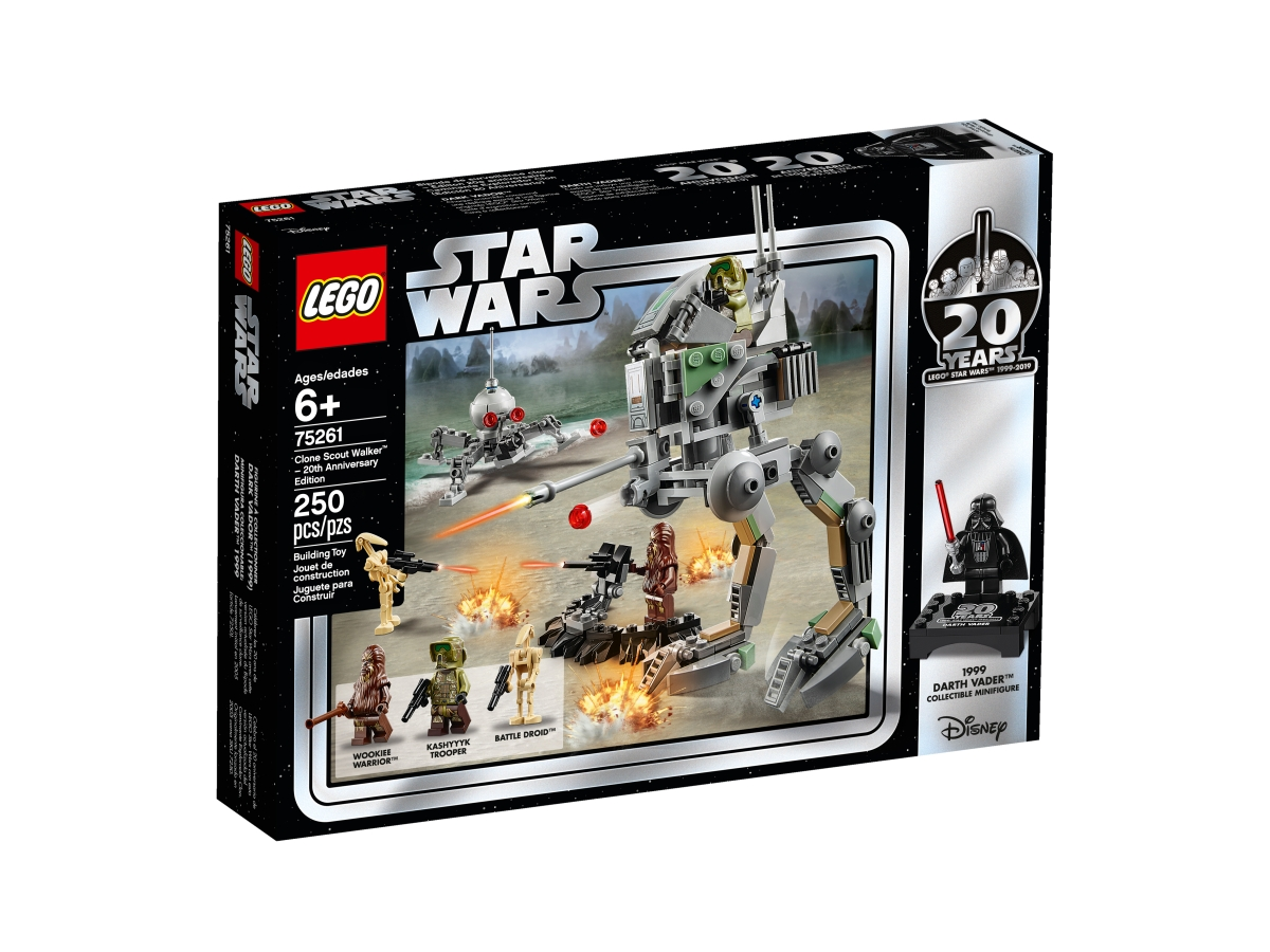 lego 75261 clone scout walker 20th anniversary edition