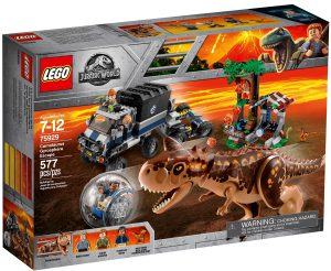 lego 75929 carnotaurus gyrosphere escape