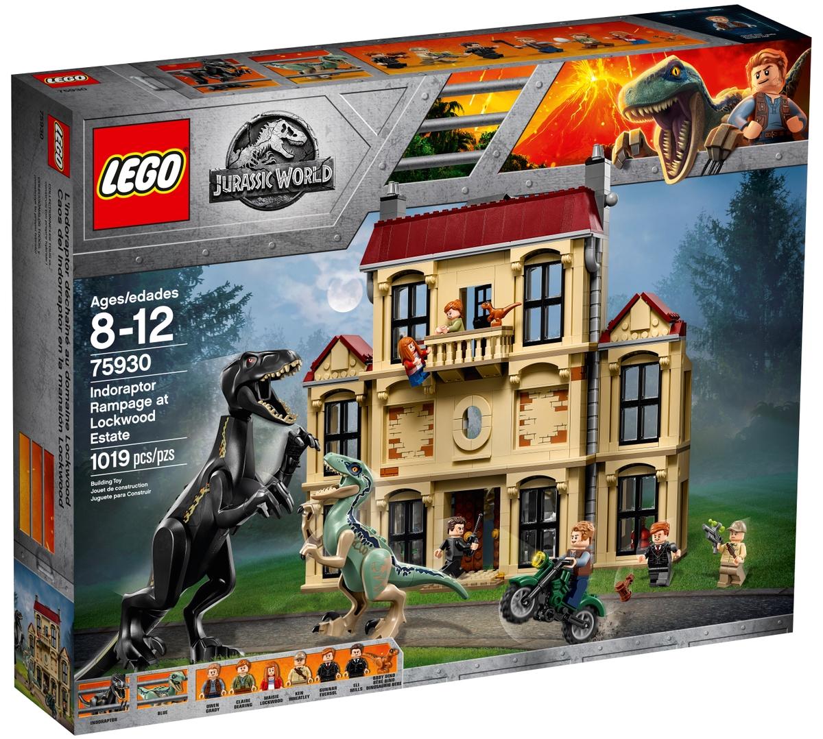 lego 75930 indoraptor rampage at lockwood estate