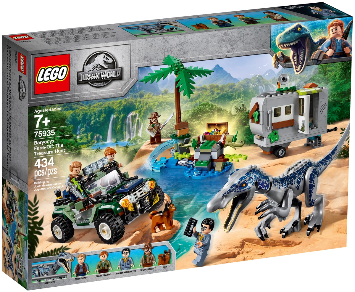 lego 75935 baryonyx face off the treasure hunt