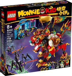 lego 80021 monkie kids lion guardian