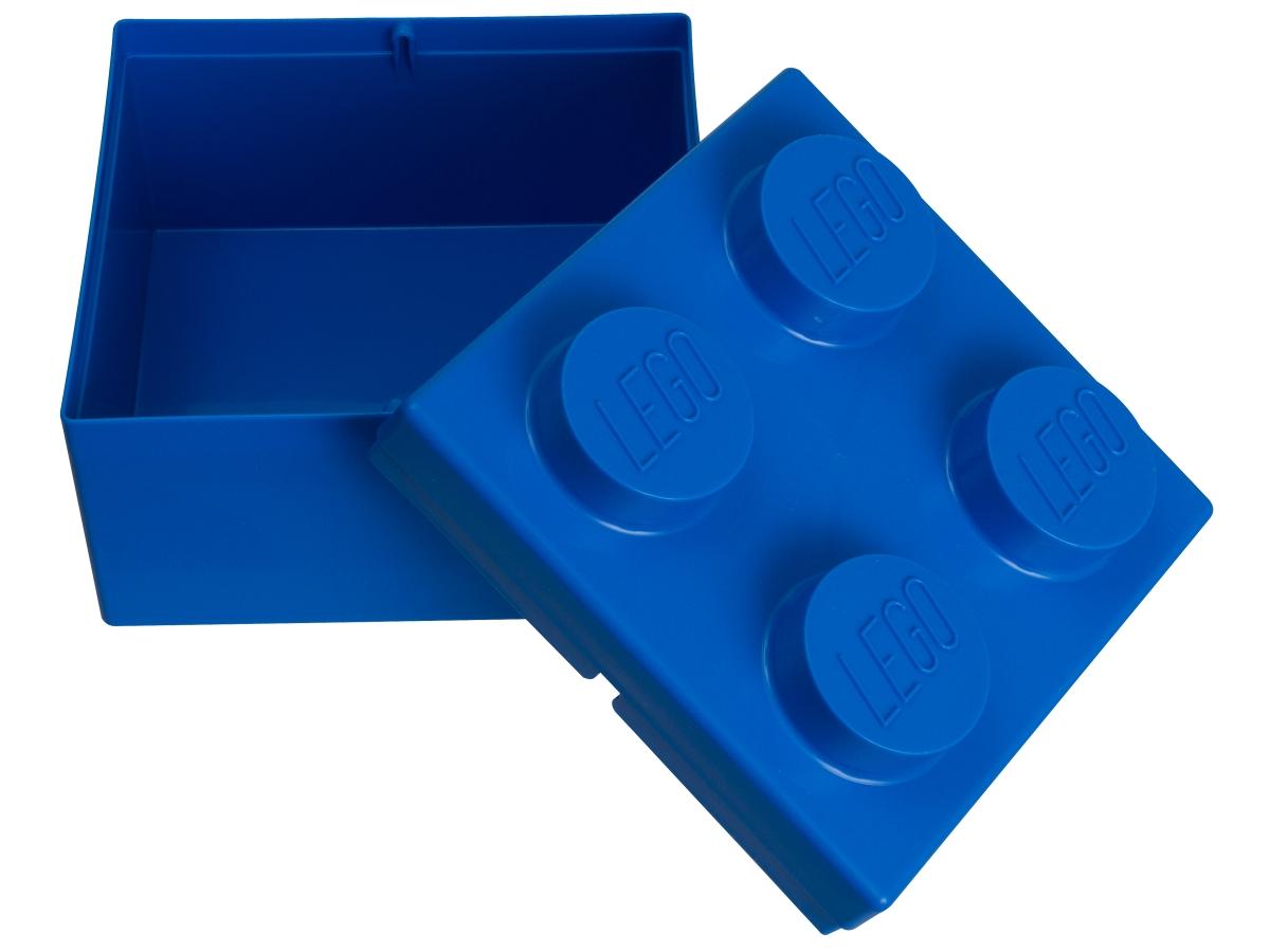 lego 853235 2x2 blue storage brick