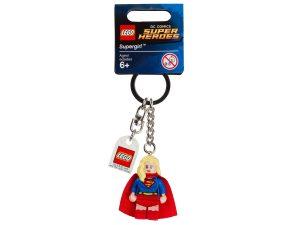 lego 853455 dc comics super heroes supergirl keyring