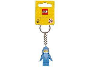 lego 853666 shark suit guy key chain