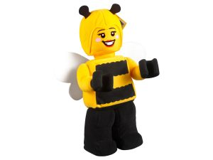 lego 853802 bee girl minifigure plush