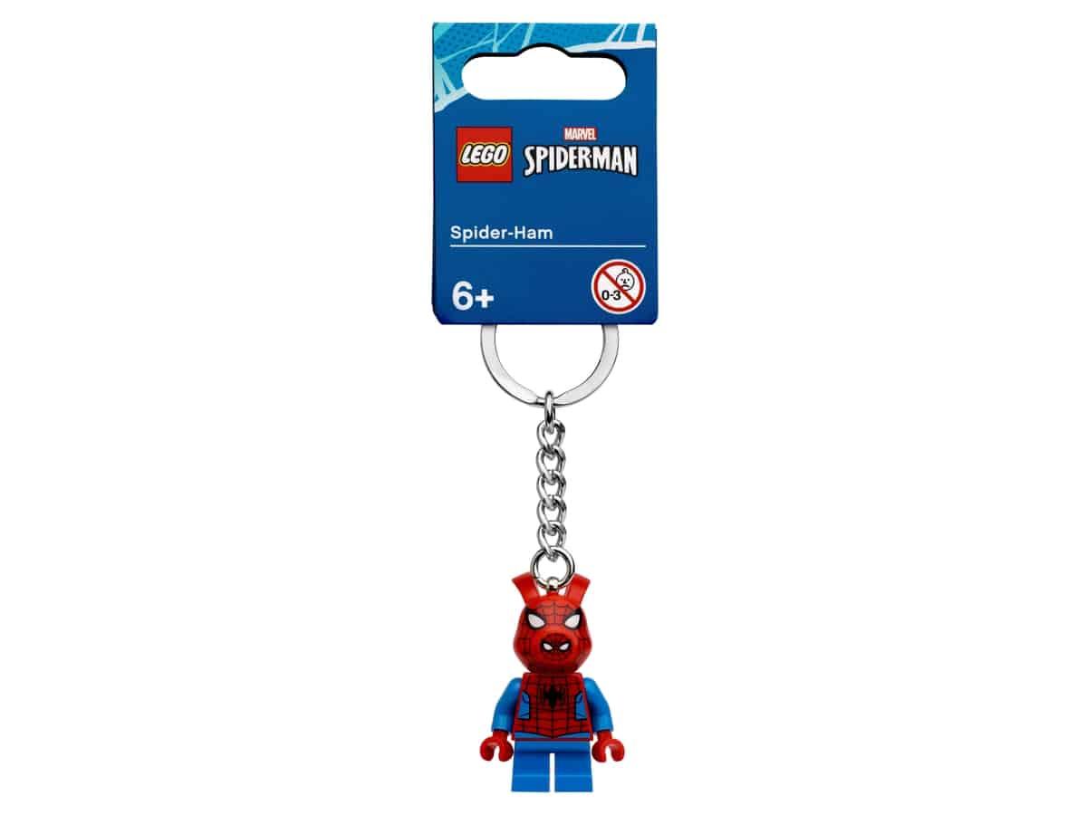 lego 854077 spider ham keyring