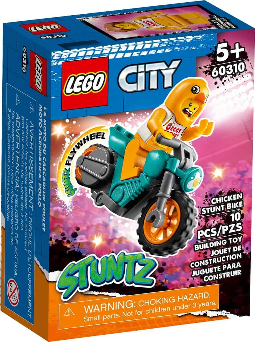 lego 60310 chicken stunt bike