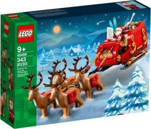 lego 40499 santas sleigh