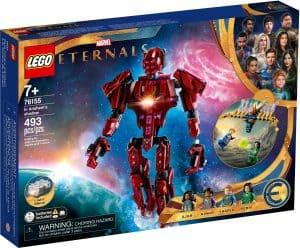 lego 76155 marvel the eternals in arishems shadow